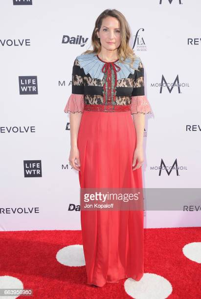 Honoree Samantha McMillen arrives at the Daily Front Row's 3rd Annual Fashion Los Angeles Awards at the Sunset Tower Hotel on April 2 2017 in West...
