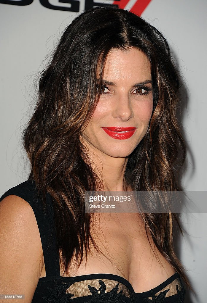 Honoree Sandra Bullock arrives at the 17th Annual Hollywood Film Awards at The Beverly Hilton Hotel on October 21, 2013 in Beverly Hills, California.