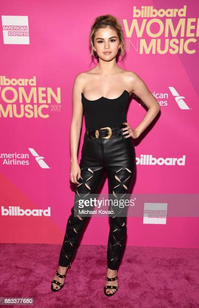 Honoree Selena Gomez attends Billboard Women In Music 2017 at The Ray Dolby Ballroom at Hollywood Highland Center on November 30 2017 in Hollywood...
