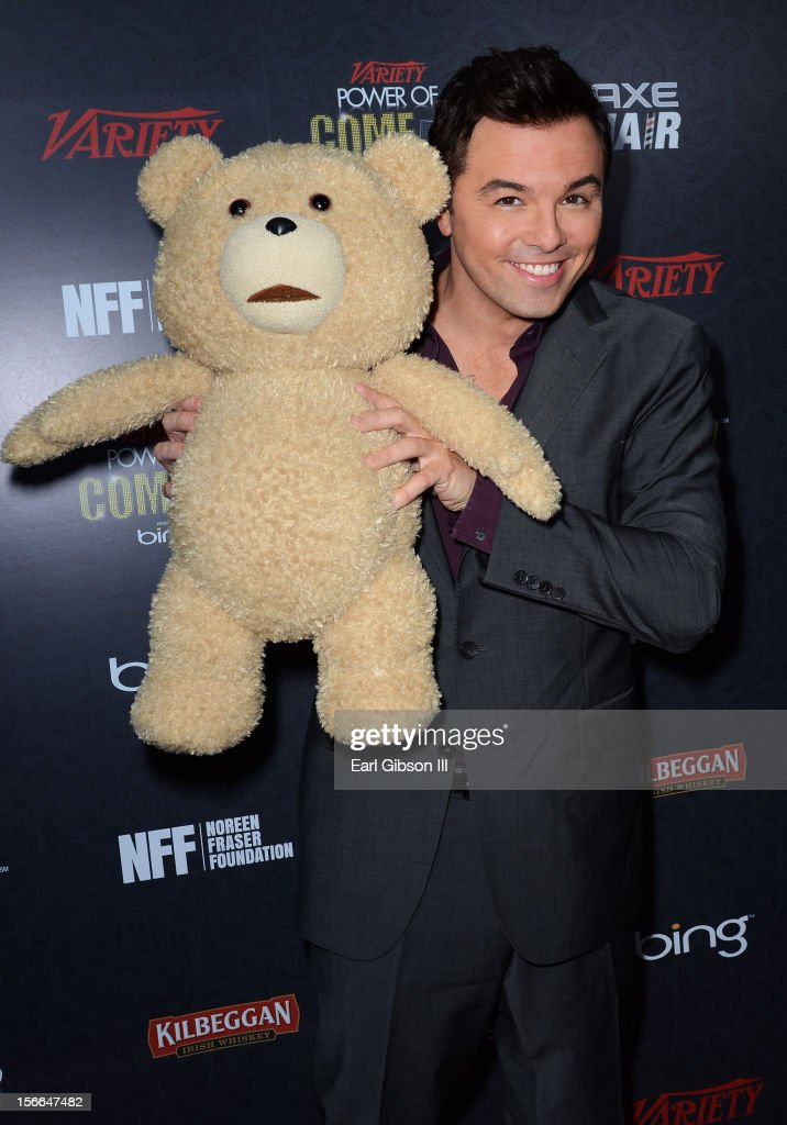Honoree Seth MacFarlane arrives at Variety's 3rd annual Power of Comedy event presented by Bing benefiting the Noreen Fraser Foundation held at Avalon on November 17, 2012 in Hollywood, California.