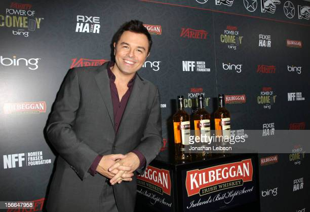 Honoree Seth MacFarlane arrives at Variety's 3rd annual Power of Comedy event presented by Bing benefiting the Noreen Fraser Foundation held at...