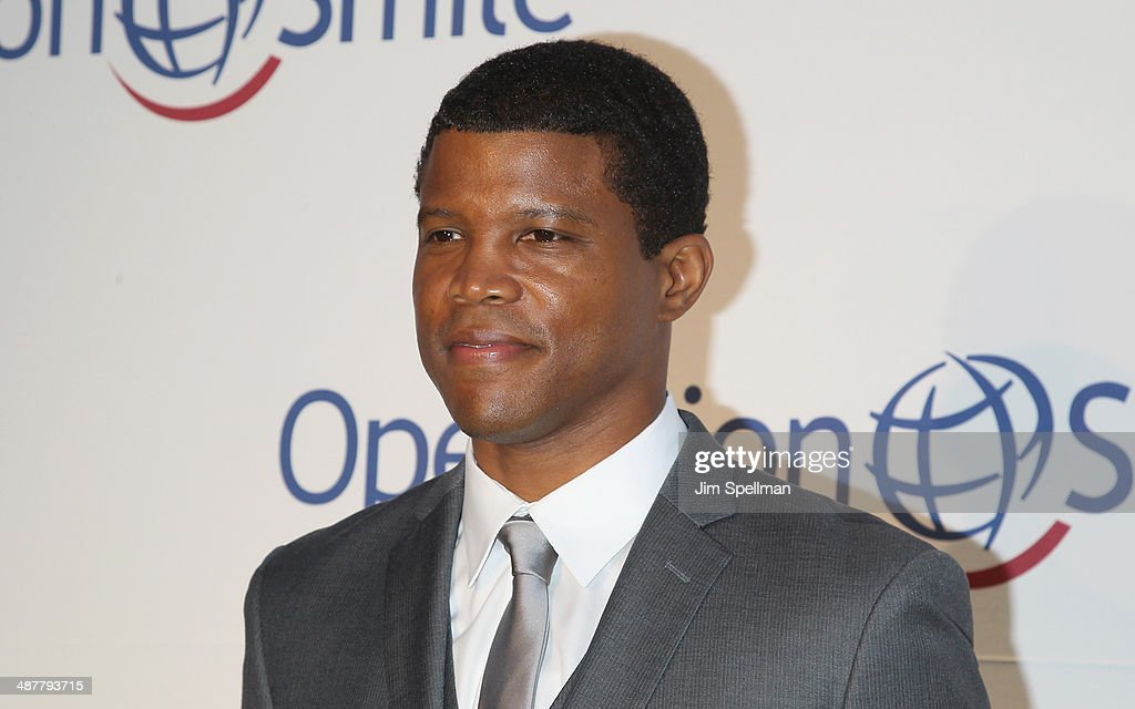 Honoree <a gi-track='captionPersonalityLinkClicked' href=/galleries/search?phrase=Sharif+Atkins&family=editorial&specificpeople=2647537 ng-click='$event.stopPropagation()'>Sharif Atkins</a> attend the Operation Smile's Smile Event at Cipriani Wall Street on May 1, 2014 in New York City.