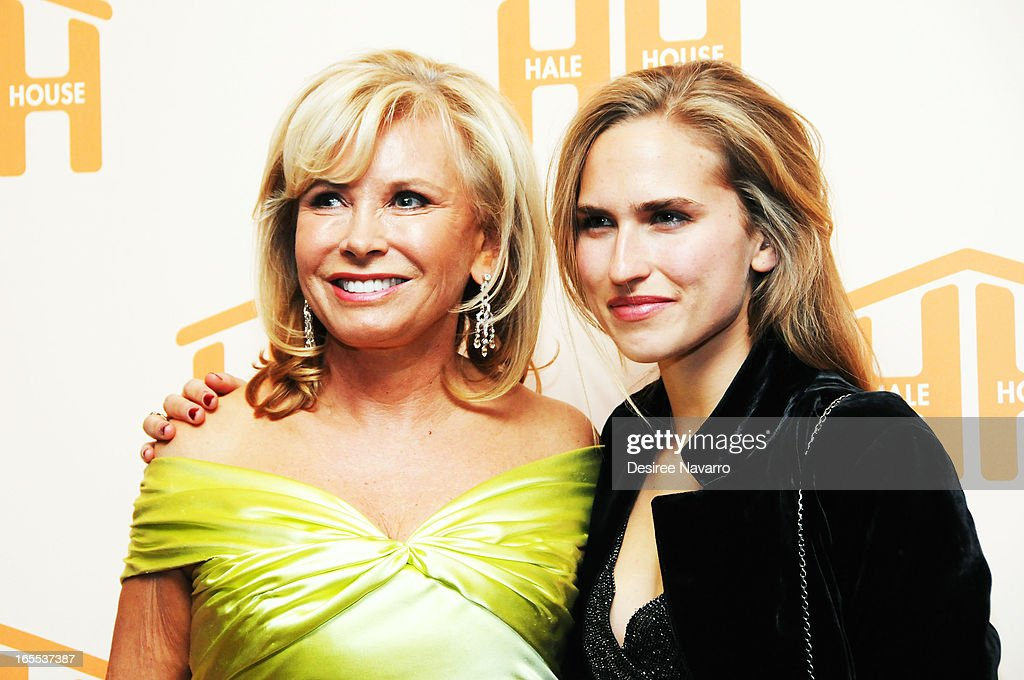 Honoree <a gi-track='captionPersonalityLinkClicked' href=/galleries/search?phrase=Sharon+Bush&family=editorial&specificpeople=217522 ng-click='$event.stopPropagation()'>Sharon Bush</a> and daughter <a gi-track='captionPersonalityLinkClicked' href=/galleries/search?phrase=Ashley+Bush&family=editorial&specificpeople=744062 ng-click='$event.stopPropagation()'>Ashley Bush</a> attend the 2013 Hale House Spring Gala at Mandarin Oriental Hotel on April 3, 2013 in New York City.