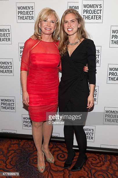 Honoree Sharon Bush and daughter Ashley Bush attend the Women Project Theater's 2014 Women Of Achievement Gala at the Mandarin Oriental Hotel on...