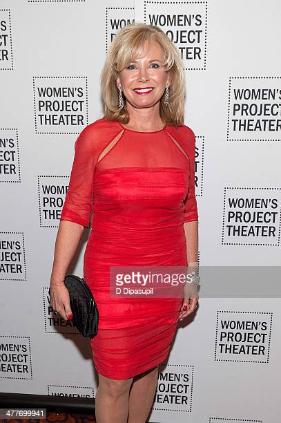 Honoree Sharon Bush attends the Women Project Theater's 2014 Women Of Achievement Gala at the Mandarin Oriental Hotel on March 10 2014 in New York...