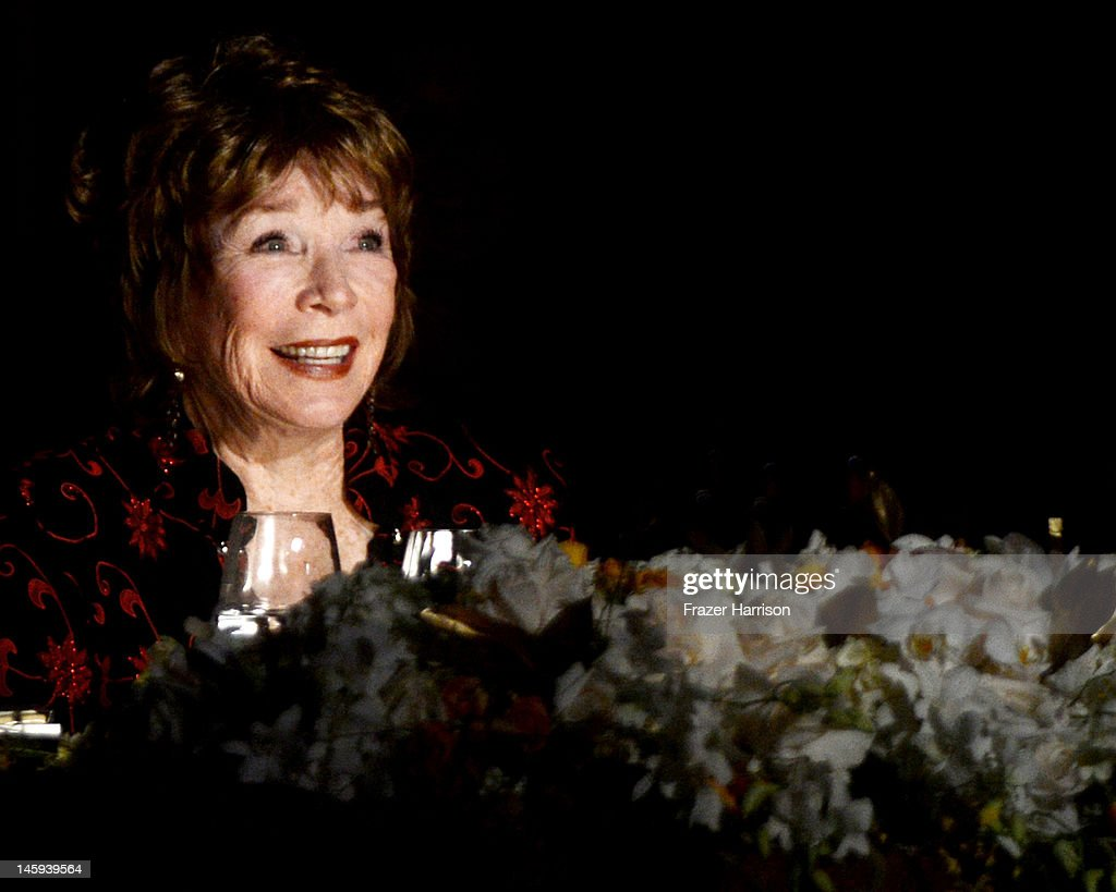 Honoree <a gi-track='captionPersonalityLinkClicked' href=/galleries/search?phrase=Shirley+MacLaine&family=editorial&specificpeople=204788 ng-click='$event.stopPropagation()'>Shirley MacLaine</a> attends the 40th AFI Life Achievement Award honoring <a gi-track='captionPersonalityLinkClicked' href=/galleries/search?phrase=Shirley+MacLaine&family=editorial&specificpeople=204788 ng-click='$event.stopPropagation()'>Shirley MacLaine</a> held at Sony Pictures Studios on June 7, 2012 in Culver City, California. The AFI Life Achievement Award tribute to <a gi-track='captionPersonalityLinkClicked' href=/galleries/search?phrase=Shirley+MacLaine&family=editorial&specificpeople=204788 ng-click='$event.stopPropagation()'>Shirley MacLaine</a> will premiere on TV Land on Saturday, June 24 at 9PM ET/PST.