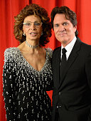 Honoree Sophia Loren and director Rob Marshall attend the special tribute to Sophia Loren during the AFI FEST 2014 presented by Audi at Dolby Theatre...
