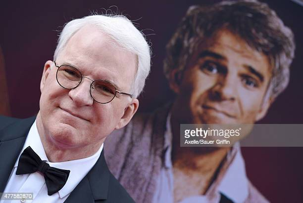 Honoree Steve Martin attends the 43rd AFI Life Achievement Award Gala at Dolby Theatre on June 4 2015 in Hollywood California
