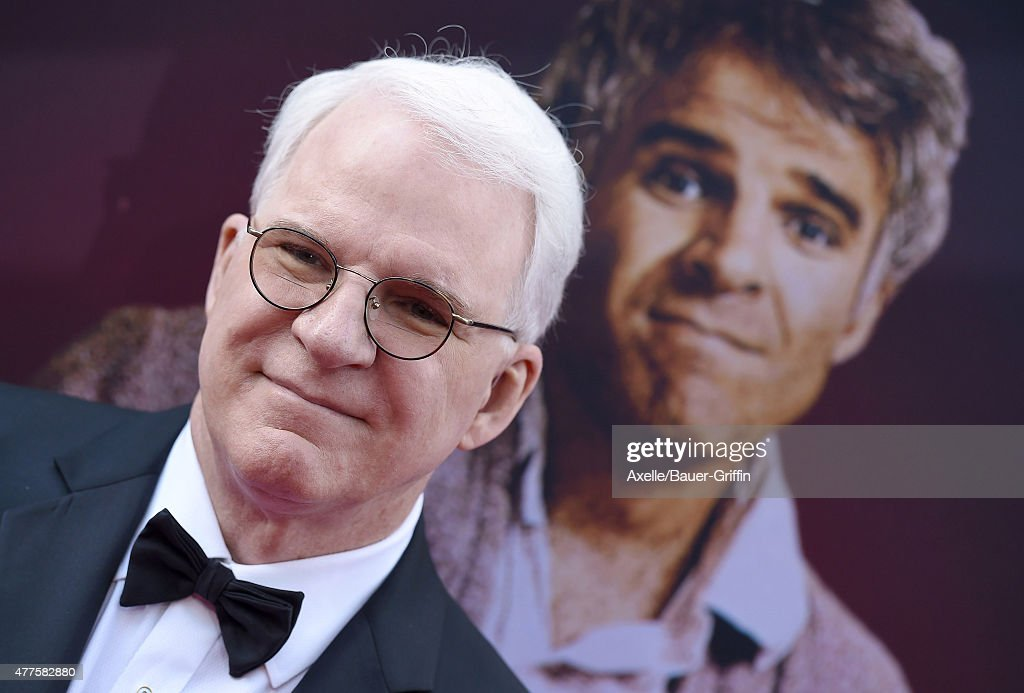 Honoree <a gi-track='captionPersonalityLinkClicked' href=/galleries/search?phrase=Steve+Martin+-+Comedian&family=editorial&specificpeople=196544 ng-click='$event.stopPropagation()'>Steve Martin</a> attends the 43rd AFI Life Achievement Award Gala at Dolby Theatre on June 4, 2015 in Hollywood, California.