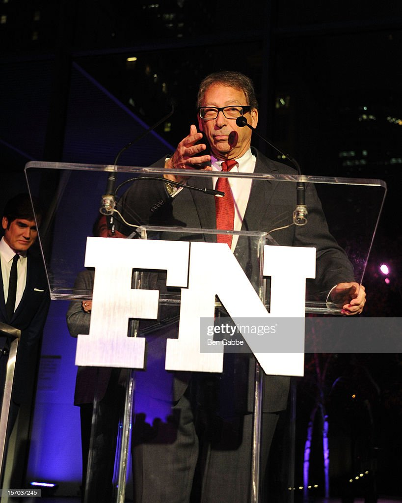 Honoree Stuart Weitzman attends 2012 Footwear News Achievement Awards at MOMA on November 27, 2012 in New York City.