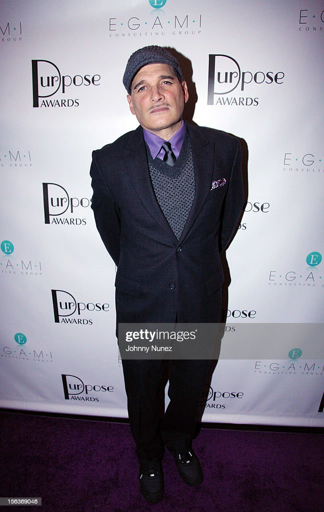 Honoree, stylist, and designer Phillip Bloch attends the 2012 EGAMI Consulting Group Purpose Awards at Beauty & Essex on November 13, 2012 in New York City.