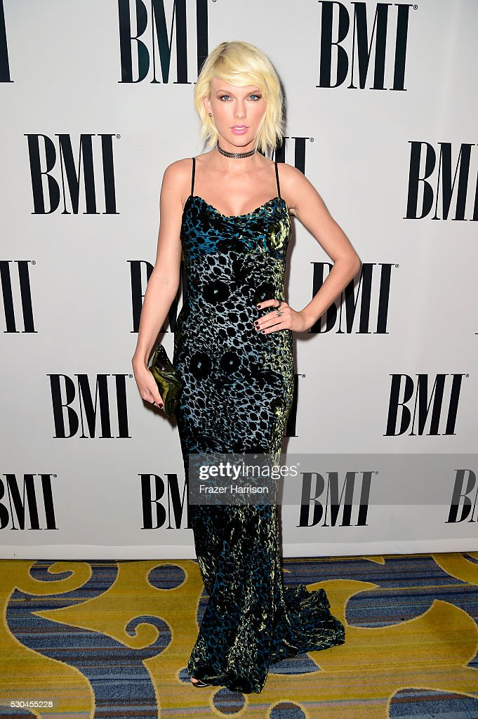 Honoree <a gi-track='captionPersonalityLinkClicked' href=/galleries/search?phrase=Taylor+Swift&family=editorial&specificpeople=619504 ng-click='$event.stopPropagation()'>Taylor Swift</a> attends The 64th Annual BMI Pop Awards, honoring <a gi-track='captionPersonalityLinkClicked' href=/galleries/search?phrase=Taylor+Swift&family=editorial&specificpeople=619504 ng-click='$event.stopPropagation()'>Taylor Swift</a> and songwriting duo Mann & Weil, at the Beverly Wilshire Four Seasons Hotel on May 10, 2016 in Beverly Hills, California.