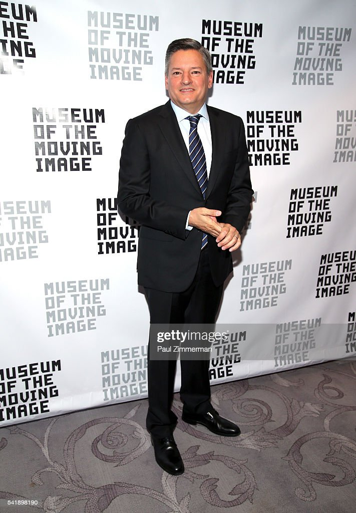 Honoree Ted Sarandos attends the Museum Of The Moving Image Honors Netflix Chief Content Officer Ted Sarandos And Seth Meyers at St. Regis Hotel on June 20, 2016 in New York City.