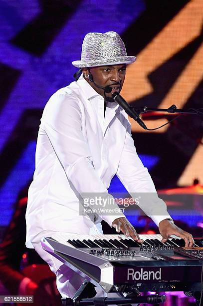 Honoree Teddy Riley performs onstage during the 2016 Soul Train Music Awards on November 6 2016 in Las Vegas Nevada