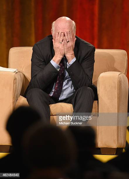 Honoree Terry Bradshaw onstage at the Friars Club Roast of Terry Bradshaw during the ESPN Super Bowl Roast at the Arizona Biltmore on January 29 2015...