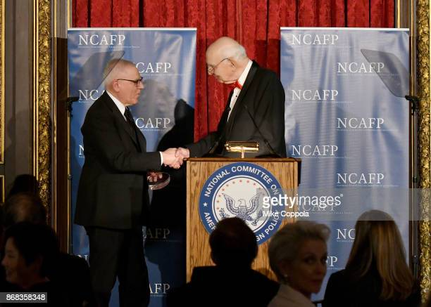 Honoree The Carlyle Group CoFounder and CoChief Executive Officer David M Rubenstein and Honorary Gala CoChairman Former Chairman of the Board of...