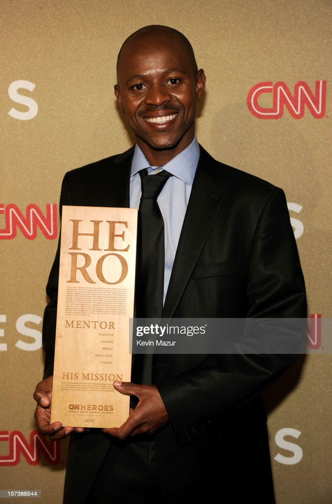 Honoree Thulani Madondo of Kliptown Youth Program attends the CNN Heroes: An All Star Tribute at The Shrine Auditorium on December 2, 2012 in Los Angeles, California. 23046_005_KM_0208.JPG