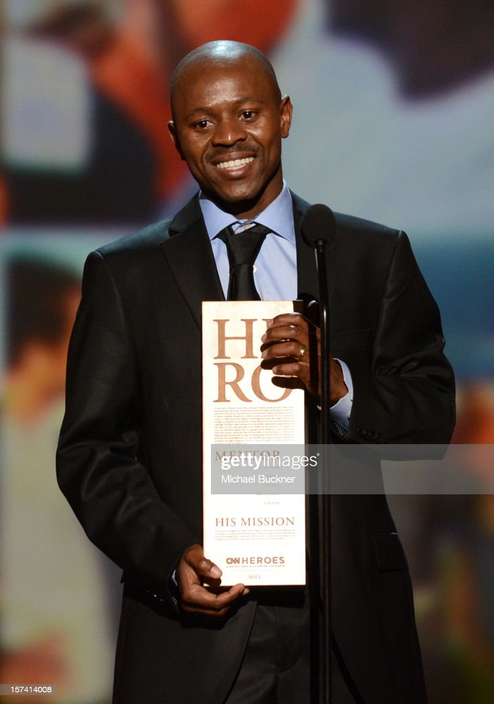 Honoree Thulani Madondo of Kliptown Youth Program speaks onstage during the CNN Heroes: An All Star Tribute at The Shrine Auditorium on December 2, 2012 in Los Angeles, California. 23046_006_MB_1291.JPG