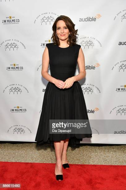 Honoree Tina Fey attends the 2017 New York Stage Film Winter Gala at Pier Sixty at Chelsea Piers on December 5 2017 in New York City