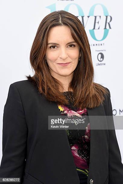 Honoree Tina Fey attends The Hollywood Reporter's Annual Women in Entertainment Breakfast in Los Angeles at Milk Studios on December 7 2016 in...