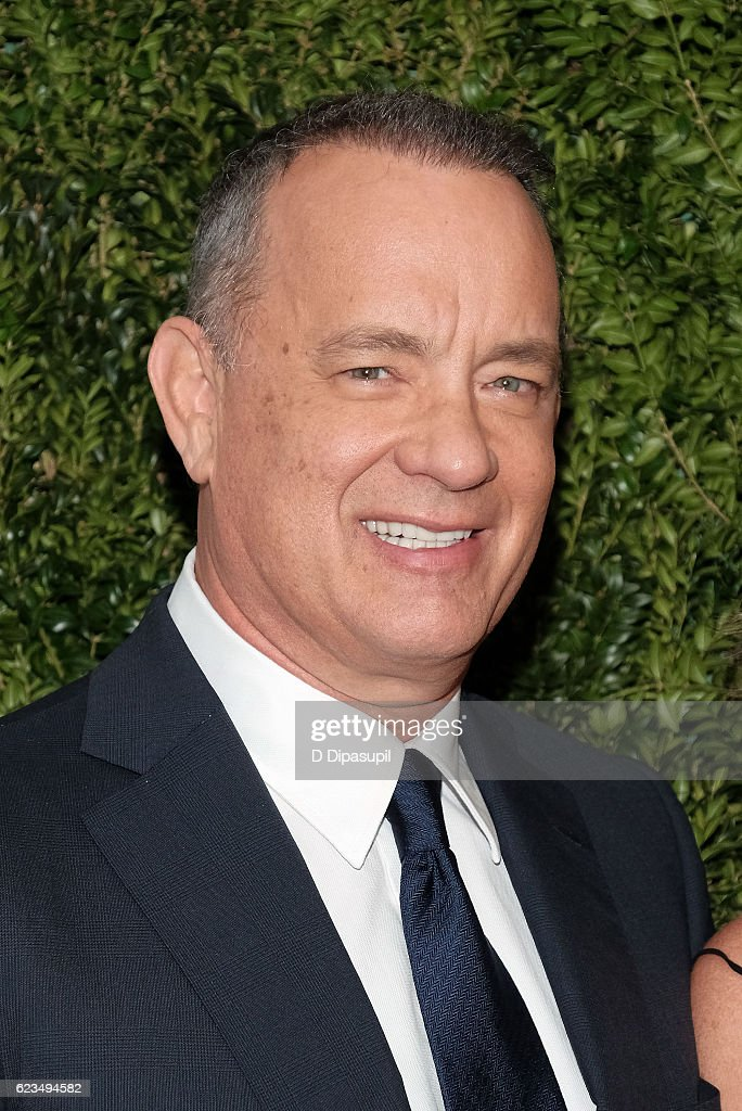 Honoree Tom Hanks attends the 2016 Museum of Modern Art Film Benefit presented by Chanel - A Tribute to Tom Hanks at Museum of Modern Art on November 15, 2016 in New York City.