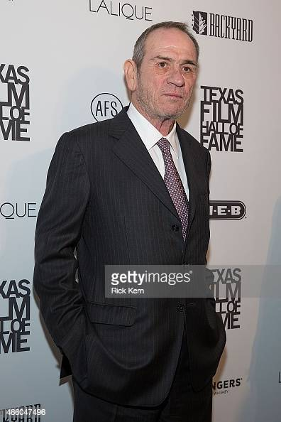 Honoree Tommy Lee Jones attends the Austin Film Society's 15th Annual Texas Film Awards at Austin Studios on March 12 2015 in Austin Texas