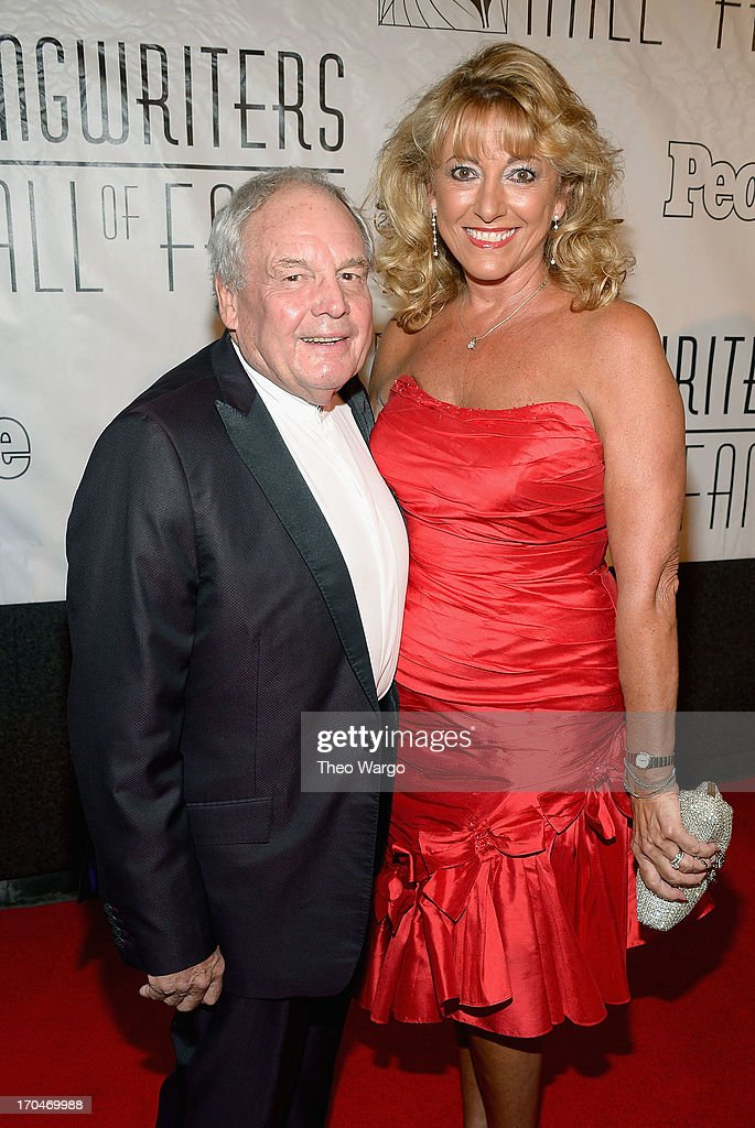 Honoree Tony Hatch and and Maggie Hatch attend the Songwriters Hall of Fame 44th Annual Induction and Awards Dinner at the New York Marriott Marquis on June 13, 2013 in New York City.