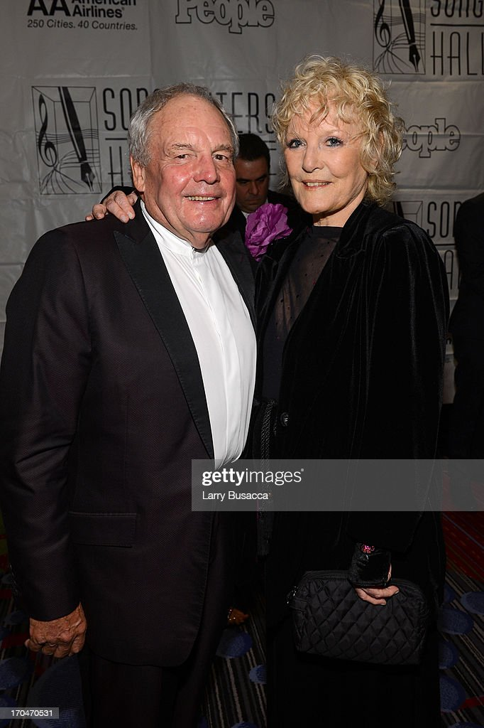 Honoree Tony Hatch and Singer Petula Clark attend the Songwriters Hall of Fame 44th Annual Induction and Awards Dinner at the New York Marriott Marquis on June 13, 2013 in New York City.