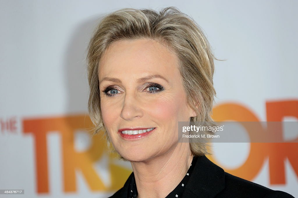 Trevor hero award/actress Jane Lynch attends 'TrevorLIVE LA' honoring Jane Lynch and Toyota for the Trevor Project at Hollywood Palladium on December 8, 2013 in Hollywood, California.
