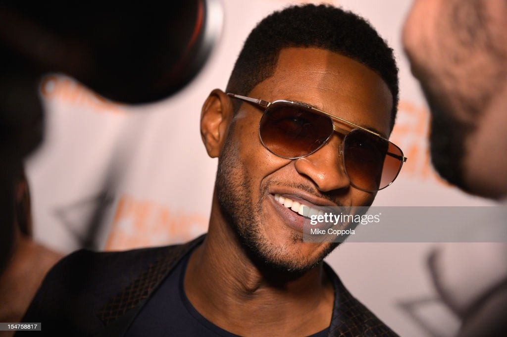 Honoree Usher Raymond IV attends the second annual Pencils of Promise Gala at Guastavino's on October 25, 2012 in New York City.