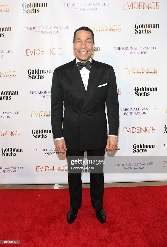 Honoree Valentino D. Carlotti of Goldman Sachs & Co. attends the Evidence, A Dance Company 9th annual Torch Ball at The Plaza Hotel on March 25, 2013 in New York City.