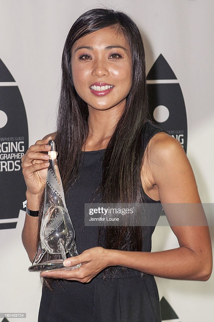 Honoree VanNessa Manlunas attends The International Cinematographers Guild's 17th Annual Emerging Cinematographer Awards at Directors Guild Of America on September 29, 2013 in Los Angeles, California.