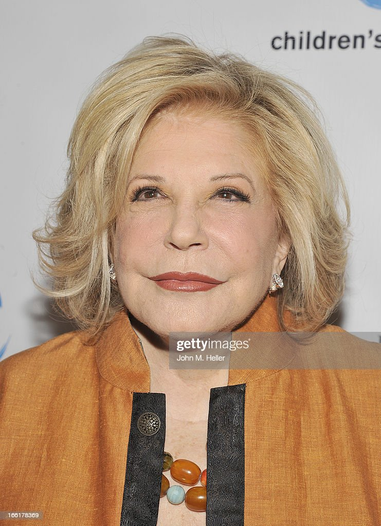 Honoree Wallis Annenberg attends the 25th annual Colleagues Luncheon at the Beverly Wilshire Hotel on April 9, 2013 in Beverly Hills, California.
