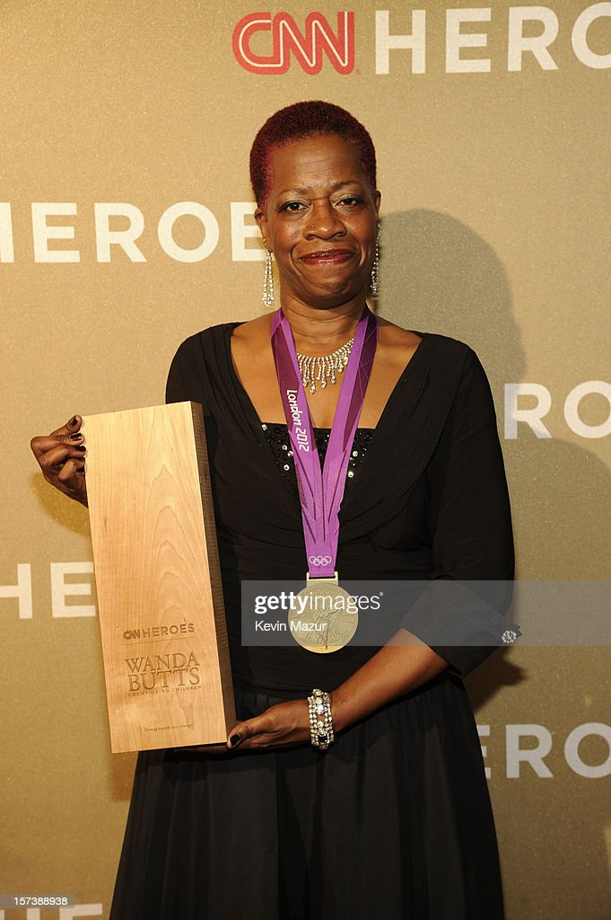 Honoree Wanda Butts of The Josh Project attends the CNN Heroes: An All Star Tribute at The Shrine Auditorium on December 2, 2012 in Los Angeles, California. 23046_005_KM_0248.JPG