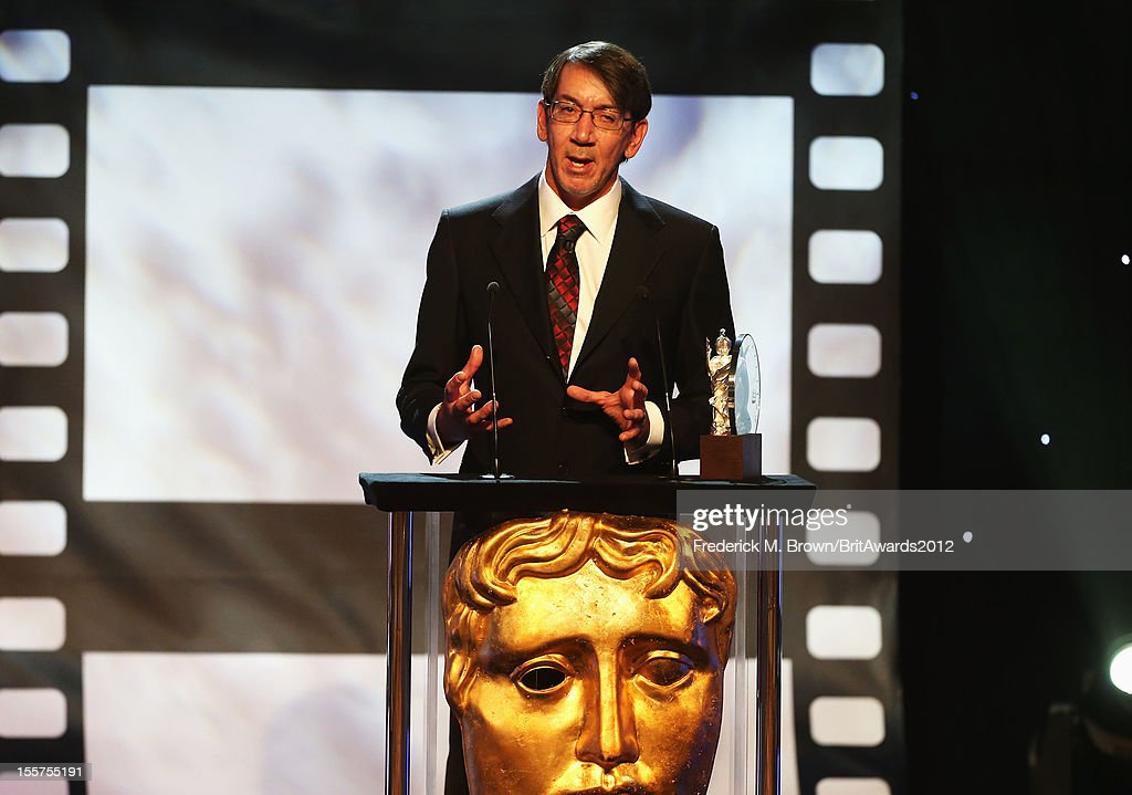 Honoree Will Wright accepts the Albert R. Broccoli Britannia Award for Worldwide Contribution to Entertainment onstage at the 2012 BAFTA Los Angeles Britannia Awards Presented By BBC AMERICA at The Beverly Hilton Hotel on November 7, 2012 in Beverly Hills, California.