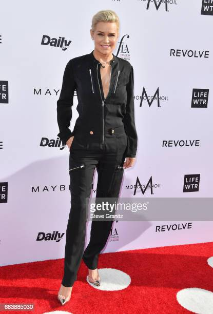 Honoree Yolanda Hadid attends the Daily Front Row's 3rd Annual Fashion Los Angeles Awards at Sunset Tower Hotel on April 2 2017 in West Hollywood...