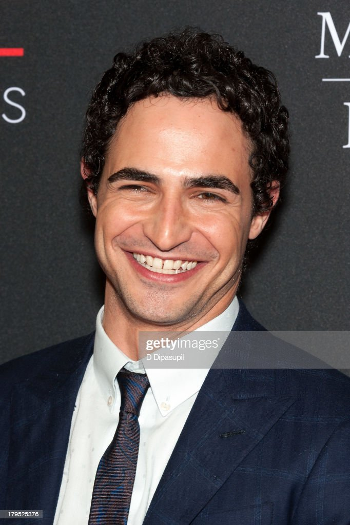 Honoree Zac Posen attends the 2013 Style Awards at Lincoln Center on September 4, 2013 in New York City.