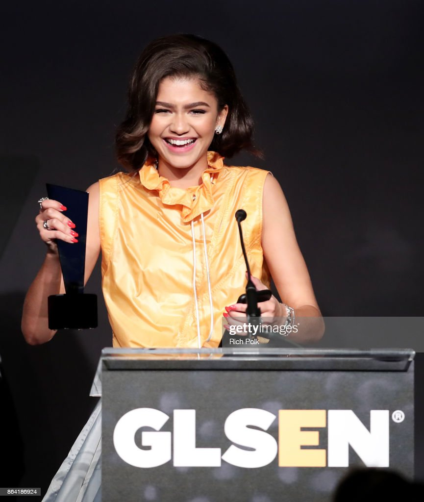 Zendaya and Kerry Washington honored at GLSEN Respect Awards