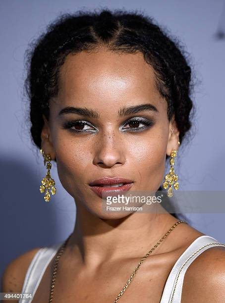 Honoree Zoe Kravitz atends the InStyle Awards at Getty Center on October 26 2015 in Los Angeles California