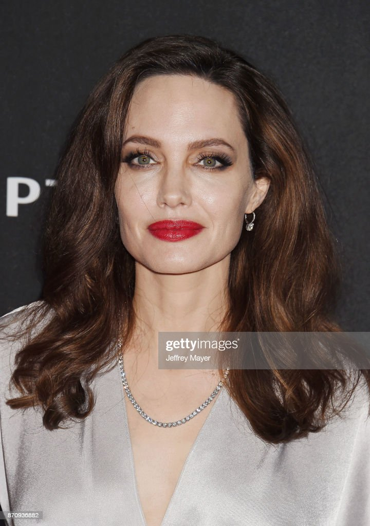 Honoree/actor Angelina Jolie attends the 21st Annual Hollywood Film Awards at The Beverly Hilton Hotel on November 5, 2017 in Beverly Hills, California.
