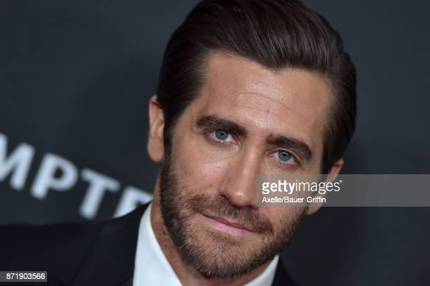 Honoree/actor Jake Gyllenhaal arrives at the 21st Annual Hollywood Film Awards at The Beverly Hilton Hotel on November 5 2017 in Beverly Hills...