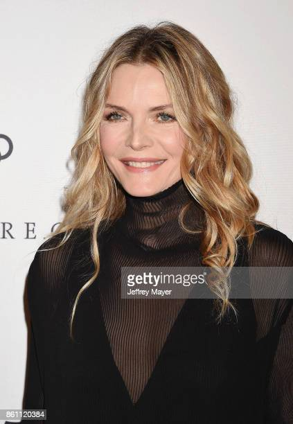 Honoree/actress Michelle Pfeiffer arrives at the Variety's Power Of Women Los Angeles at the Beverly Wilshire Four Seasons Hotel on October 13 2017...