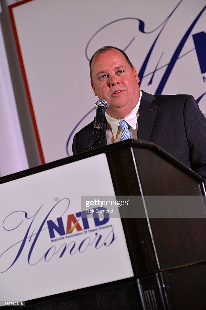 Honoree/Artist Manager Chaz Corzine attends the 3rd. annual NATD Honors 2013 at the Hermitage Hotel on November 12, 2013 in Nashville, Tennessee.