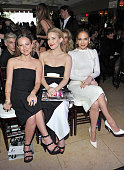Honoree/jewelry designer Jennifer Meyer actress Kate Hudson and actress/singer Jennifer Lopez attend The Daily Front Row 'Fashion Los Angeles Awards'...
