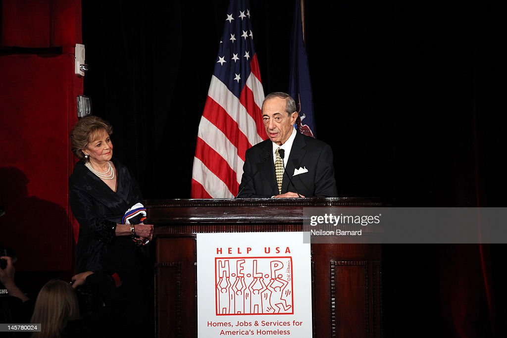 Honorees and Governor Mario and Matilda Cuomo attend the HELP USA Tribute Awards Dinner honoring HELP HEROES President Bill Clinton and Governor and...