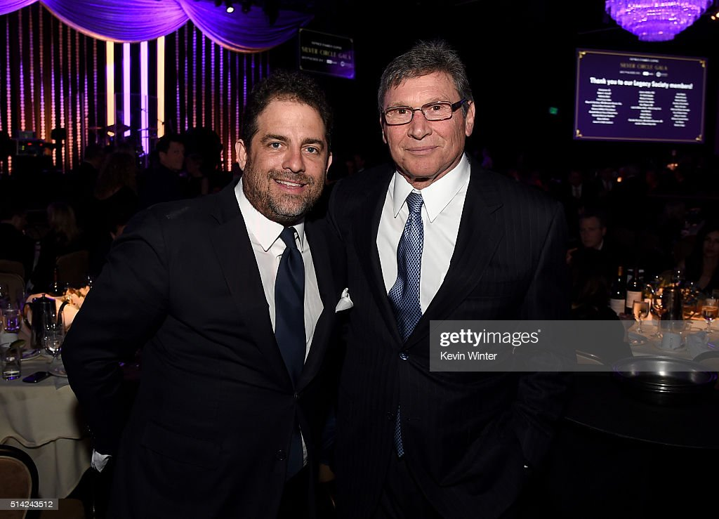 Honorees Brett Ratner (L) and Bill Flumenbaum attend the Venice Family Clinic Silver Circle Gala 2016 honoring Brett Ratner and Bill Flumenbaum at The Beverly Hilton Hotel on March 7, 2016 in Beverly Hills, California.