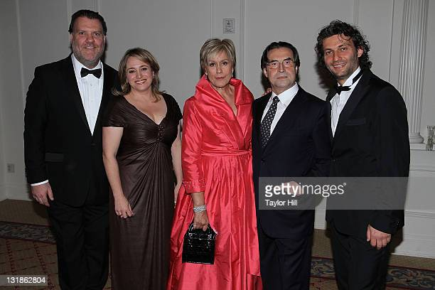 Honorees Bryn Terfel Patricia Racette Dame Kiri Te Kanawa Riccardo Muti and Jonas Kaufmann attend the Sixth Annual Opera News Awards at The Plaza...
