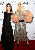 Honorees Carine Roitfeld and Lady Gaga attend the Daily Front Row 'Fashion Los Angeles Awards' at Sunset Tower Hotel on March 20 2016 in West...