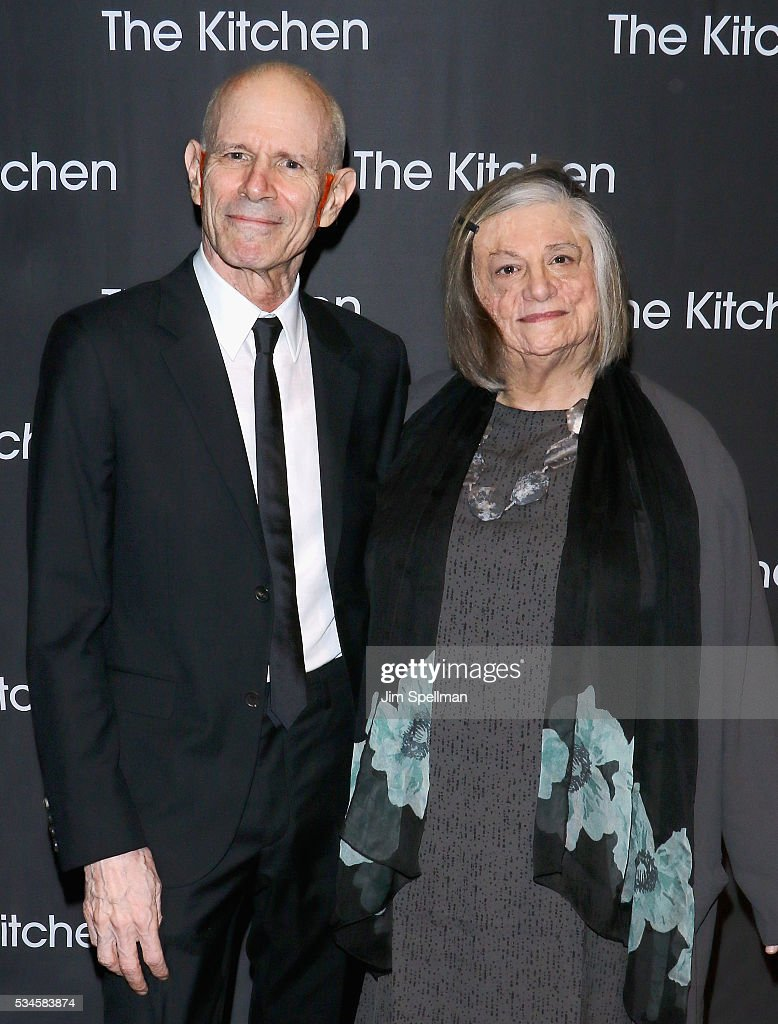 Honorees Charles Atlas and Dara Birnbaum attend the 2016 Kitchen Spring Gala Benefit at Cipriani Wall Street on May 26, 2016 in New York City.