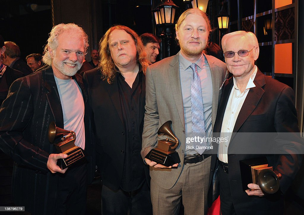Honorees Chuck Leavell, Warren Haynes, Derek Trucks of the Allman brothers band and George Jones The 54th Annual GRAMMY Awards - Special Merit Awards Ceremony And Nominee Reception at The Wilshire Ebell Theatre on February 11, 2012 in Los Angeles, California.